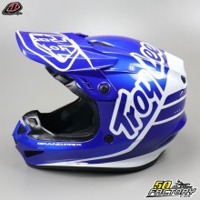 Helmet cross Troy Lee Designs GP Silhouette navy and white size L