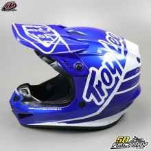 Helmet cross Troy Lee Designs GP Silhouette navy and white size M