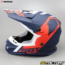 Casco cross Primo Racing K2 blu e rosso taglia S