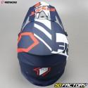 Casco cross Nombre Racing K2 azul y rojo talla M