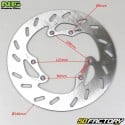 Disco freno anteriore Peugeot XP6, XPS, XP7, HM 240mm NG Brake Disc