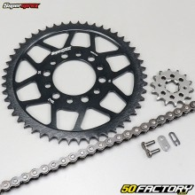 Kit chaîne 14x50x126 Yamaha TW 125 (2002 à 2007) Supersprox