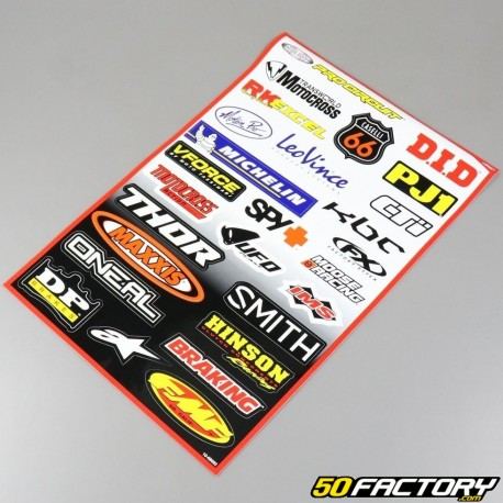 Set of stickers  MX V2