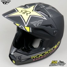 Casque cross Fly Kinetic Rockstar taille S
