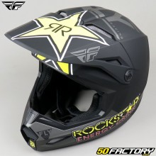 Casque cross Fly Kinetic Rockstar taille XS