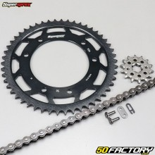 Kit chaîne 14x50x128 Yamaha XTR 125 (2005 à 2008) Supersprox