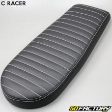 Selle scrambler universelle C-Racer noire V4