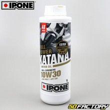 Engine Oil 4 stroke 10W30  Ipone  Fullpower Katana  100% synthesis 1L