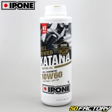 Engine Oil 4 stroke 10W60  Ipone  Fullpower Katana  100% synthesis 1L
