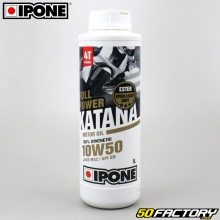 Engine Oil 4 stroke 10W50  Ipone  Fullpower Katana  100% synthesis 1L