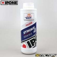 Huile moteur 4T 10W50 Ipone Stroke 4 100% synthèse 1L
