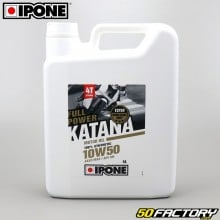 Huile moteur 4T 10W50 Ipone Fullpower Katana 100% synthèse 4L