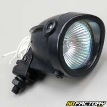 Universal black halogen headlight projector Ø50mm