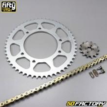 Juego de cadena 14x53x136 Derbi Senda DRD Racing, DRD Pro, Bultaco ... Fifty