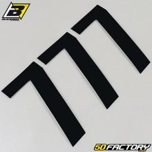 Numbers cross 7 black 13x7cm Blackbird (3 game)