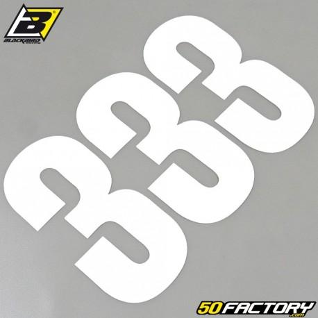 numbers cross 3 white 13x7cm Blackbird (3 game)