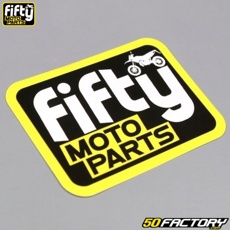 Sticker Fifty moto parts 80x60mm