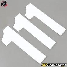Números cross 1 blanco 16cm Kutvek (juego 3)