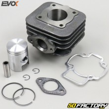 Cylindre piston fonte Ø40mm Piaggio air Zip, Typhoon, Stalker... 50 2T Evo-K