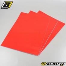 Adhesive vinyl sheets Blackbird red 47x33cm (3 set)