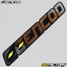 Adesivo Gencod argento 130x19mm