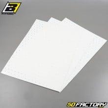 Planches adhésives vinyle Blackbird blanches perforées 47x33cm (jeu de 3)