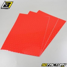 Pegatinas de vinilo adhesivo Blackbird cm perforado rojo (juego de tablas)