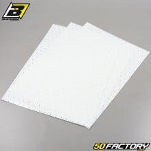 Adesivos de vinil adesivo Blackbird translúcido perfurado 47x33cm (conjunto de placas 3)