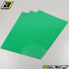 Adhesive vinyl sheets Blackbird green 47x33cm (3 set)