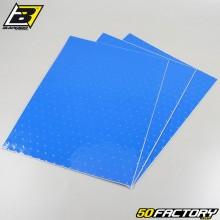 Planches adhésives vinyle Blackbird bleues perforées 47xx33cm (jeu de 3)