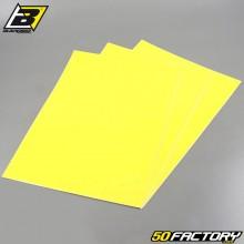 Adhesive vinyl sheets Blackbird yellow 47x33cm (3 game)