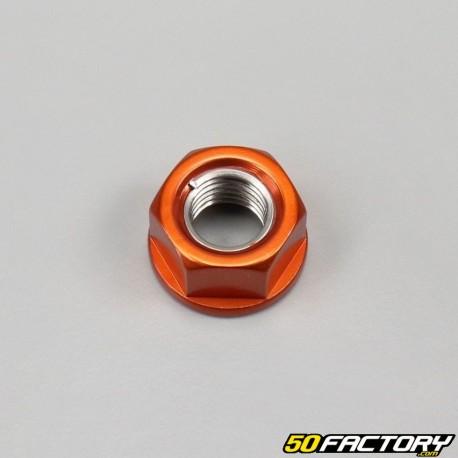 Orange Ø10x1.25mm Mutter