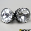 Dual optical headlights Street universal bikes