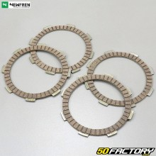 Lined clutch discs Yamaha XTX, XTR and YBR 125 Newfren