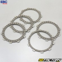 Trimmed clutch friction plates Yamaha WR et  YZF-R 125 EBC