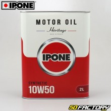 Engine Oil 4 10W50 Ipone Heritage 100% synthesis 2L
