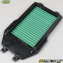 Tampa do filtro Kawasaki KFX Filtro Verde 450