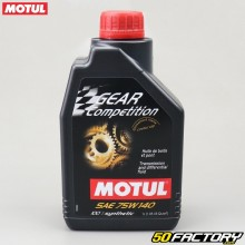 Huile de transmission - pont 75W140 Motul Gear Competition 100% synthetic 1L