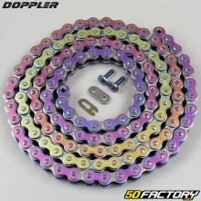 Chain 420 reinforced 134 links Doppler neochrome