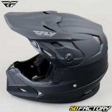 Helmet cross Fly Toxin Solid Mips noir mat