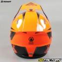 Casco cross Kenny Track Focus naranja fluo