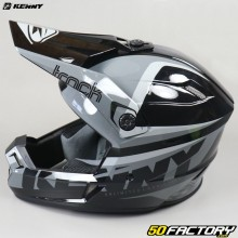 Casco cross Kenny Track Focus negro