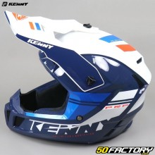 Helmet cross Kenny Performance PRF blue and white