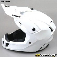 Casco cross Kenny Performance PRF blanco perla