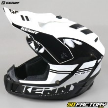 Casco cross Kenny Performance PRF en blanco y negro