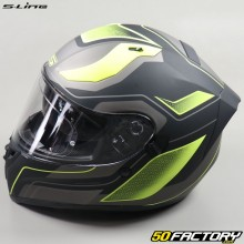 Full face helmet S-Line S441 Venge matt black and yellow