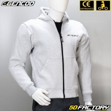 Jacket Gencod (with protections) CE approved gray