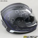 Full face helmet S-Line S448 Apex Graphic matt black and blue