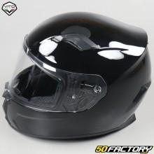 Vito Duomo shiny black full face helmet