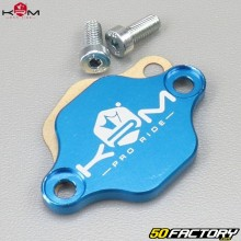 Blanking plate  oil pump Derbi, AM6, Morini KRM Pro Ride blue